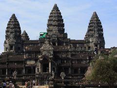 カンボジア 果てしなく遺跡を巡る旅① シェムリアプ、そしてアンコールワット