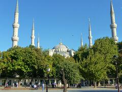 イスタンブール!初日午後の最初はブルーモスク!