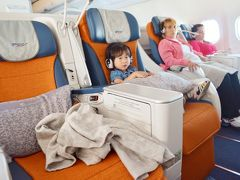 SUビジネスクラスで3歳小娘と二人で欧州旅行 ⑪旅の終わり アエロフロート復路