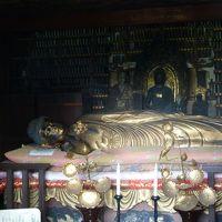 奥の細道を訪ねて第11回04大石田の街散策その1乗船寺の釈尊涅槃像