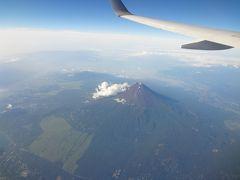 首都高の日の出と空の上から見る真夏の富士山 ~Aug 2012~