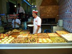 イスタンブール最後の晩の夕食はチョット食べすぎ。