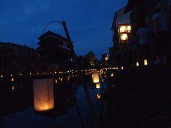 秋の滋賀の旅(夜の近江八幡)