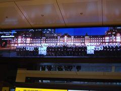 リニューアルオープン前日に訪問した東京駅丸の内側の風景
