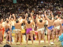 東京旅行:大相撲九日目②