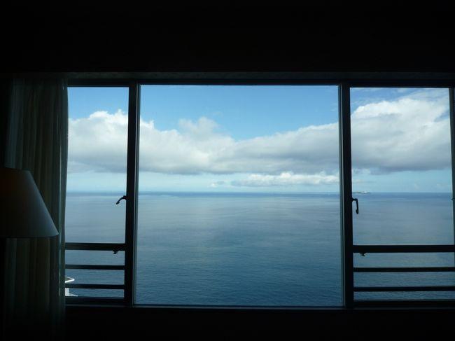 初めてホテルエステに行ってきました☆<br /><br />海を見ながら、お部屋にこもり、温泉に入ってエステしておいしいごはんを食べる。。<br /><br /><br />なんて優雅で素敵な時間♪<br /><br /><br />幸せすぎたけど、このあと風邪をこじらせまた肺炎になる。。。なんて最悪。。<br /><br /><br />でも、この旅行は幸せだったので、思い出そう!