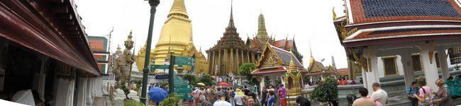 今回は観光目的ではありませんでしたが、観光客は行かない?(行けないだろうな)ような寺院で日頃の悪行を正すべく身を清めましたが、案内人の影響を受け日本にいるときより太り、且つスケベーになって帰国しました。<br />もう少しで帰国拒否になりそう・・・<br /><br />タイ国内では、いつもの渋滞に巻き込まれましたが、クラクションの音を聞くことはなく穏やかに過ごせましたが、バンコクの中心地やスワンナプーム空港駐車場では、搭乗時間のあせりもあるのか、クラクションが響いていました。<br /><br />ブログは→ http://masakazu-jp.blogspot.jp/<br /><br />写真集は→ http://sdrv.ms/WL8hp4