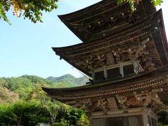 別所温泉の松茸を食べる旅♪ Vol2(第1日目) ☆塩田平:前山寺の「未完成の三重塔」と名物「くるみおはぎ」を頂く♪