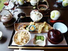別所温泉の松茸を食べる旅♪ Vol9(第2日目) ☆別所温泉:ランチは「松籟亭」で絶景を眺めながら松茸御膳を頂く♪