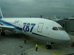 ANAのボーイング787でフランクフルトから羽田空港まで