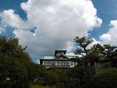 蒲郡クラシックホテル・庭園散策編★お城のような本館前の池は涼しげだった!