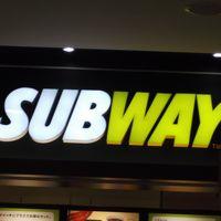 SUBWAYのサンドウィッチ~テイクアウト(*^_^*)アピタ敦賀店フードコート