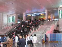 上海の上海北駅・国慶節・2012年