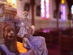 博物館明治村で教会めぐり★ステンドグラスの色彩が美しい聖ザビエル天主堂
