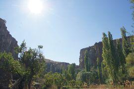 20121014 カッパドキア Green Tourでデリンクユ地下都市、ウフララ渓谷、セリメ修道院跡とか