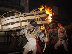 神戸ハーバーランドから後半はいつもの京都へ(三日目後半)~「サイレイヤ、サイリョウ」の声が響く中、鞍馬の街は松明の炎で一つになりました~