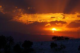 20121021 パムッカレ 遅めの到着でしたし、夕日でも眺めますかねぇ