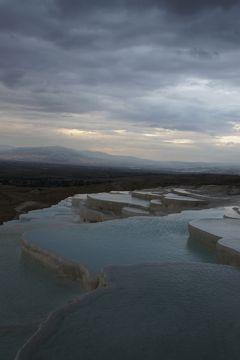 20121022 パムッカレ もちろん、石灰棚とヒエラポリス観光です