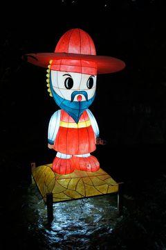 20121103 ソウル 昌慶宮の紅葉と日本語ガイドツアー、清渓川のランタンフェスティバル