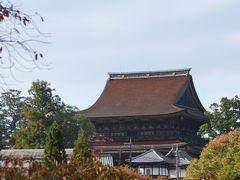 ちょこっと奈良 吉野の早い紅葉とか 蔵王堂特別開帳 とか。