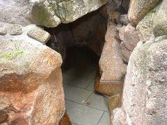 2012美ヶ原温泉祭りで洞窟風呂に