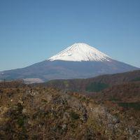 2012年11月綺麗な富士山と紅葉の箱根