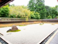よっしゃ、京都へ行くどす(ぇ)!2012。 龍安寺へ。