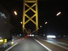 夜の瀬戸大橋