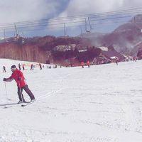 万座スキーツアー 〜1日目:わたスキの舞台は今日も 「凍ってるね v(^^*)」