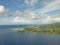 癒しのサイパン 優雅なバカンス♪ Vol1(第1日目午前~午後) ☆成田~サイパン:成田空港ラウンジまったりとくつろぐ♪デルタ航空ビジネスクラスでサイパンへ♪南洋の島々を機上から眺めて♪