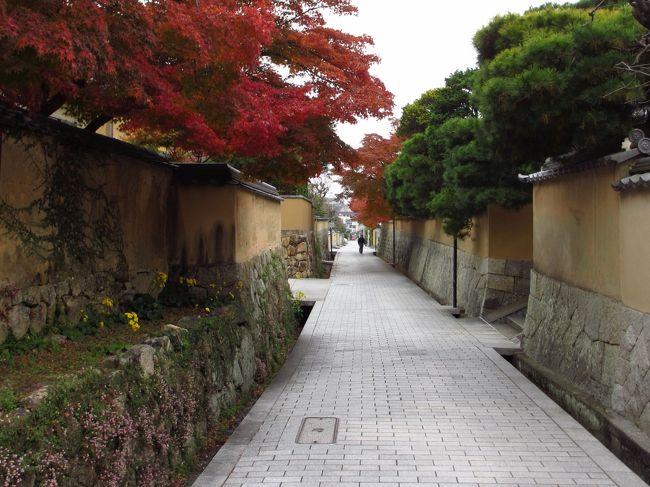 宮崎の次の出張は山口…<br />出張も遅くなることが予想され、翌日が休日につき新山口のビジホに宿泊することにしました。<br />翌日は家に素直に帰ろうと思っていたのですが…<br /><br />紅葉に彩られたむかし町をどうぞ~<br />