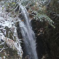 歩く。。。 秋 紅葉深し… のち、冬?! いよいよ本編 雪の中の「八ツ淵の滝」めぐり(滋賀県高島町)