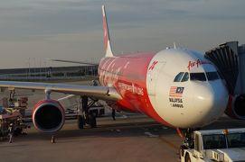 2012マレーシア エアアジアXで まずは国外脱出