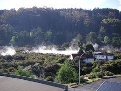 ニュージーランド航空ビジネスクラスで行くドライブ旅行⑥ロトルア、タウポ
