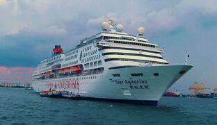 初めての海外クルーズ(マラッカ海峡) 2008年4月