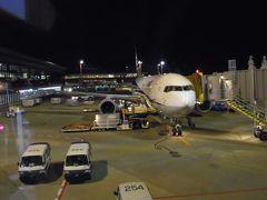 スタアラ特典航空券ビジネスクラス搭乗記(成田-香港-バンコク-仁川-成田)その1(NRT-HKG)全日空B767