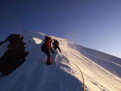 モンブラン縦走登山