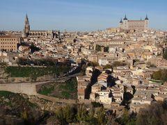 古都トレドの遠望は美しく、大聖堂は旧市街に厳かに建つ。トレド大聖堂とトレド・サントトメ教会で、巨匠画家エル・グレコの名画を鑑賞できた。