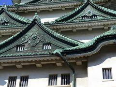 輝く金鯱(キンシャチ)名古屋城
