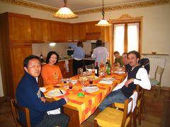 イタリア・クレモナの一般家庭を訪ねる