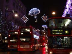 メアリークリスマスを  ロンドンで