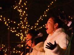 ☆★光と音と人で満ち溢れた、賑やかな汐留のクリスマス~!★☆