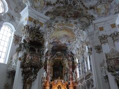 3度目のドイツクリスマス市めぐり☆その9☆ヴィース教会&ノイシュヴァンシュタイン城~某国の添乗員に呆れる<`ヘ´>