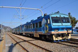2012年12月韓国鉄道旅行3(三陟線海列車)