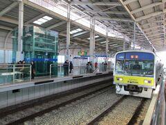 2012年12月韓国鉄道旅行4(盆唐線)