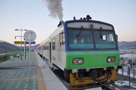 2012年12月韓国鉄道旅行6(京元線白馬高地駅へ)