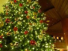 クリスマスのグアム 優雅なバカンス♪ Vol4(第1日目夜) ☆ディナーはアウトリガー隣の「ナナズカフェ」で♪アウトリガーの巨大なクリスマスツリー♪