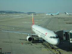 2012年12月韓国鉄道旅行7(仁川空港から福岡空港経由帰路)