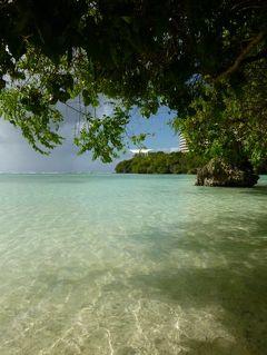 クリスマスのグアム 優雅なバカンス♪ Vol24(第7日目午後) ☆アウトリガー前のタモンビーチで優雅に過ごす♪