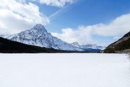 白いカナダ ~カナディアン・ロッキーとナイアガラ~ 【3】水鳥湖とサスカチュワン川